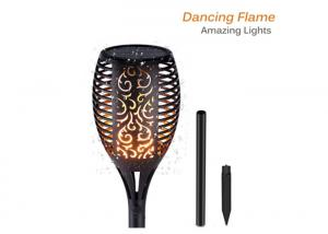 China Flame Solar Torch Lights IP65 Waterproof Flickering Dancing Garden Flame Torch on sale
