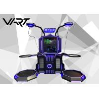 Black and Blue Virtual Reality Simulator 300kg NW Interactive Game Machine