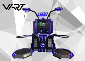 China Black and Blue Virtual Reality Simulator 300kg NW Interactive Game Machine on sale