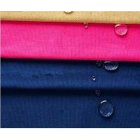 Combed Yarn Type Dyed Tent Cotton Canvas Fabric , Heat - Insulation Sofa Fabric Material