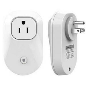 China ISO / Android Cell Phone Controlled Electrical Outlet , Smartphone Outlet Switch on sale