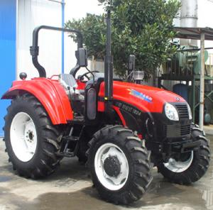 China 100hp 4 wheel Japanese farm tractors on sale