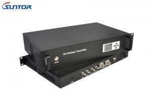 China 40W émetteur de la puissance élevée COFDM, émetteur visuel sans fil extérieur de terme ultra long on sale