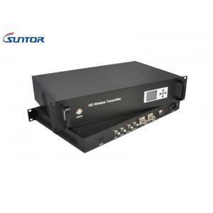 China 40W transmisor del poder más elevado COFDM, transmisor video inalámbrico al aire libre de la gama ultra larga on sale