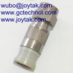 China F Compression Connector PPC type Male For RG59 Coaxial Cable CATV connector on sale