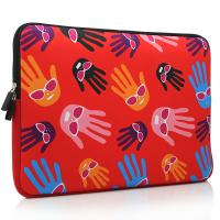 China cheap insulated neoprene laptop sleeve with two zippers closure form factory on sale