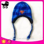 2017 new style YIWU 16*17cm 107g 100% Polyester Animal Beanies cap Monste Critter Pokemon Winter earflap hats