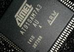 Integrated Circuit Chip AT91SAM7A3-AU ATMEL QFP