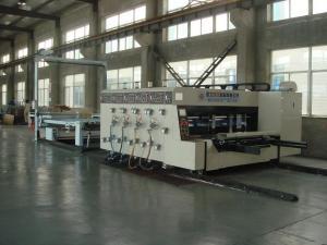 Quality 合金鋼鉄機械およびスタッカー機械を作る型抜きの波形のカートン箱 for sale