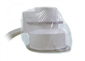 China Medical Sterile Transparent Nonwoven PE Protective Cover For Equipment on sale