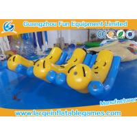 Large Inflatable Kids Teeter Totter Toys For Water Sport Games / Water Game Equipment