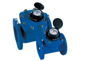 China Cast Iron Woltman Water Meter Dry-dial For Cold/Hot Water LXLC-250B on sale