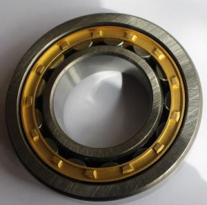 China ABEC - 5 NU 207 EM Cylindrical Roller Bearing , precision high speed thrust bearing on sale