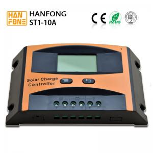 China PWM 10A Solar Power Controller Auto Recognize 12V 24V 48V Solar Panel Charge Controller on sale