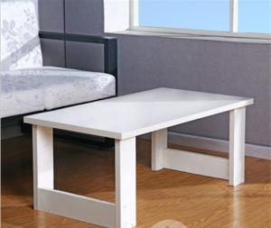China White Kitchen Rectangle Dining Table , Contemporary Dining Room Desk Furniture DX-EX07 on sale