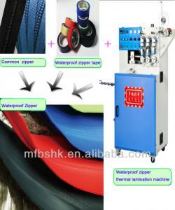 China Waterproof Zipper Making Machine on sale