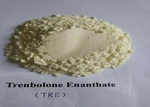 China Muscle Growth Tren Anabolic Steroid 10161 33 8  Trenbolone Enanthate Yellow Crystalline Powder on sale