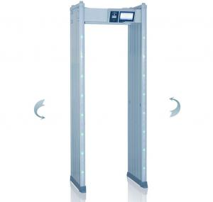 China Arched Walk Through Security Metal Detectors Body Scanner Alarm System on sale