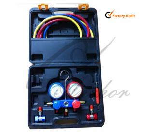 China Air Conditioning Tool Kit , R134a Manifold Gauge Set ISO9001 TS16949 on sale