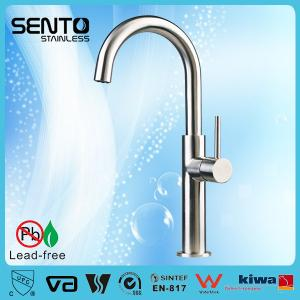 China Small kitchen design stainless steel rotary switch faucet kitchen on sale