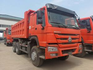 China Middle Lifting Type Heavy Duty Dump Truck Cargo Size 5200 X 2300 X 1350 Mm on sale