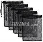 Mesh Laundry Bag Heavy Duty Drawstring Bag, Factories, College, Dorm, Travel Apartment Blouse, Hosiery, Stocking, Underw