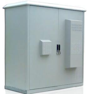 China Outdoor Telecom Enclosure, IP55, Telecom Shelter, Telecom Rack, Two Bay, Custom Made on sale
