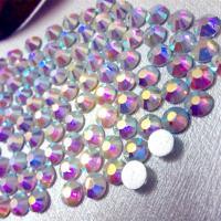 China Sparkle 14-16 facet cut swaro preciosa crystal rhinestone crystal ab on sale