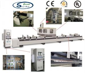 China Digital Display Aluminium Window Machinery For Profile 3 Axis CNC Machining Center on sale