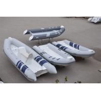 Liya 2.4m-5.2m open floor rib boat fiberglass hulls pvc or hypalon material inflatable boat