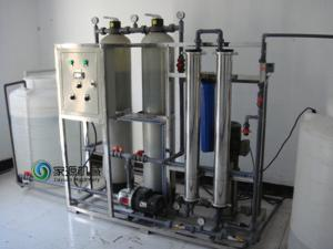 China Fully Automatic Water Purification Equipment RO 2.75kw for PET Bottle supplier