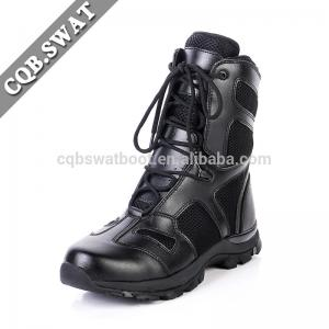 China CQB.SWAT black military Safety Boots manufacturers of army tactical boots on sale