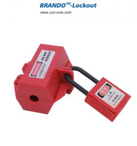 Electrical Large Plug Lockout Tagout Boxes Lock Device for Safe Maintenance