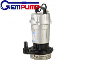 China WQR 304 / 316 submersible sewage pump high temperature 100 ℃ on sale