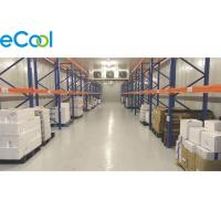 China Insulated PUR Panel Cold Room Storage Warehouse -18C ~ -20C For Plastic Packed Frozen Food on sale