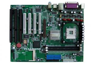 China 4 PCI, apoio Intel Pentium4 do mainboard do entalhe de 3 AIA/processador soquete 478 de Celeron on sale