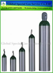 China high pressure medical oxygen gas cylinders o2 aluminum gas cylinder supplier on sale