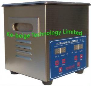 China Electronic 2L 80w Digital Ultrasonic Cleaners Medical Instruments With Heater on sale