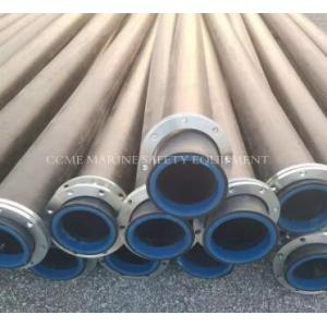 China flanged HDPE dredge pipes for  dredging on sale