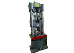 China 6 Column Automatic Servo Hydraulic Universal Testing Machine ASTM E8 Standard on sale
