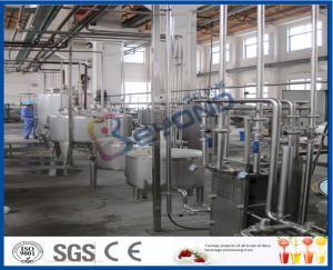 China l'équipement réglé de Procesing du yaourt 2000LPH, machine de fermentation de yaourt avec du plastique met en forme de tasse le paquet on sale