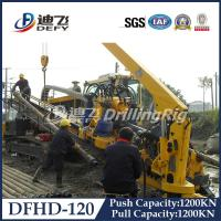 120T DFHD-120 underground pipeline laying rig HDD machine with 1200KN Pulling Force