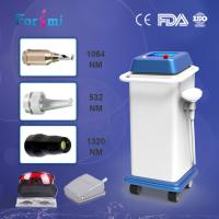Professional CD FDA approved 1064nm 800w input power long pulse nd yag laser hair removal machine for sale