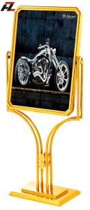 China Stainless Steel Swivel Sign Stands-Poster Stands on sale