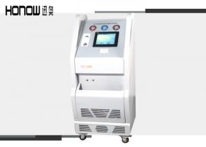 China CE Marked AC Flush Machine Auto R134a Refrigerant Recovery Unit Cooling System on sale