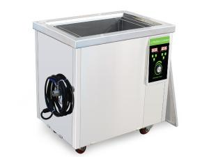 China Industrial Plastic Mould Large Ultrasonic Cleaning Tank 40khz With Basket 100 Liter on sale