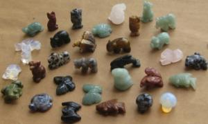 China carved animal beads on sale