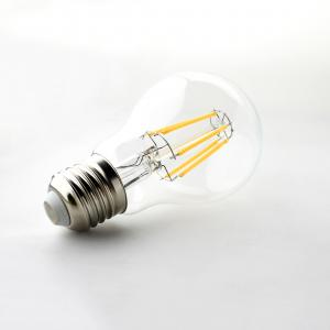 China Non dimmable 4W / 8W Led Filament Bulb , CE & ETL e27 led bulb Energy Saving on sale