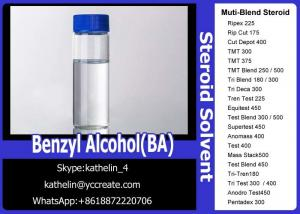 China Pharma Grade Muscle Gain Steroids Solvent Benzyl Alcohol (BA) For Steroid Liquid Homebraw on sale