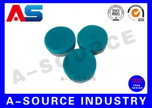 China White / Blue / Red / Black Plastic PP 13mm Flip Off Cap Of Pharma Vials Engraved Words 8011 / H16 With Coating on sale